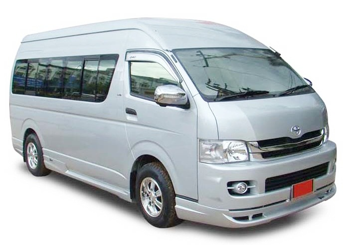 Van rental Hua Hin to Bangkok Airport